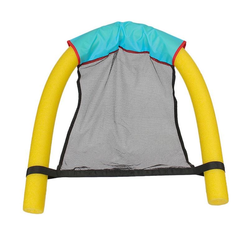 schwimmende wasser pool nudel sling mesh stuhl net schwimmen sitz werkzeuge ebay. Black Bedroom Furniture Sets. Home Design Ideas