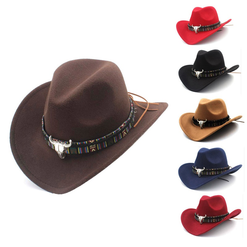 ab6295d26e2ff Details about Women Men s Cowboy Hat Straw Sunhat Wide Brim Western Cowgirl  Beach Sun Caps Hat