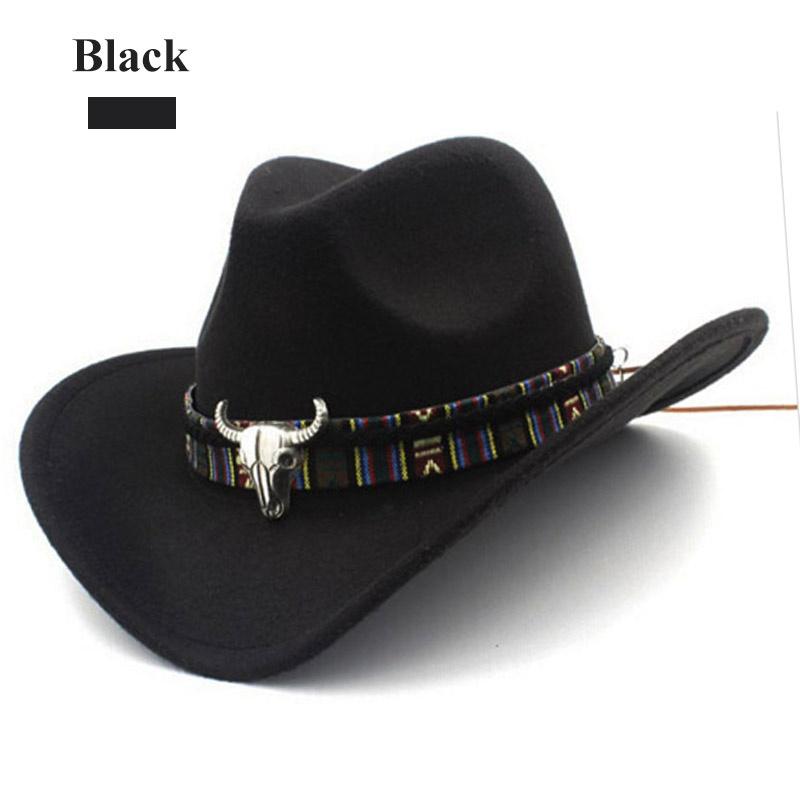 16cfe0ff090 Unisex Winter Autumn Retro Western Equestrian Cowboy Hat Turquoise ...
