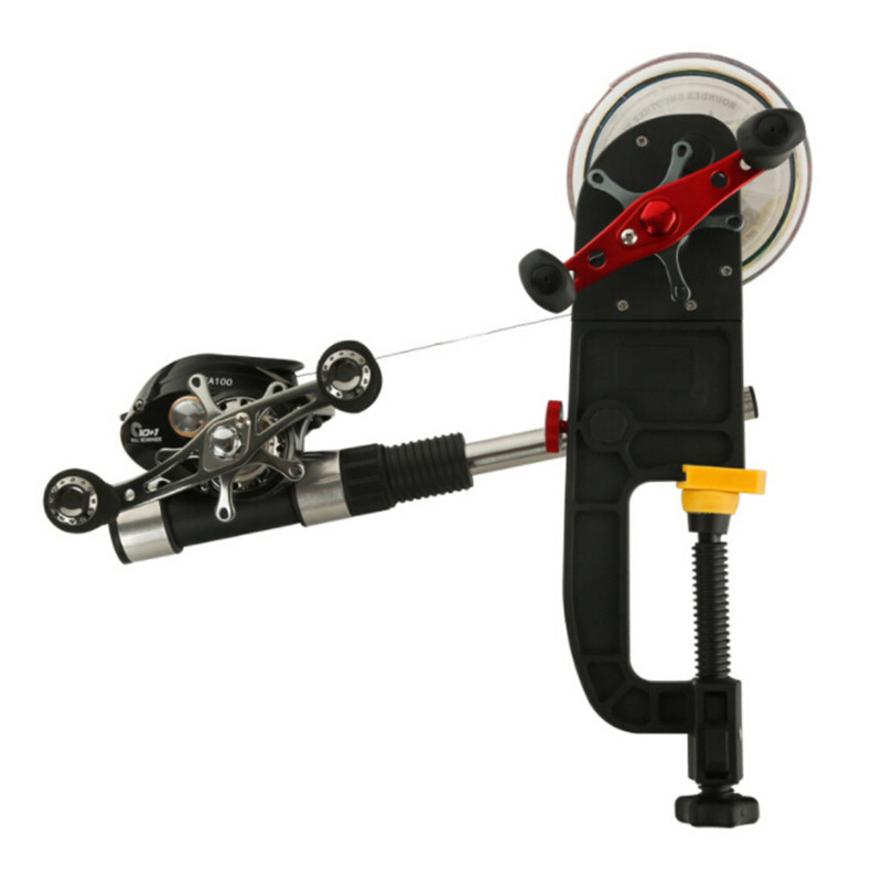 Outdoor Fishing Line Spooler Winder Reels Spooling Station Machine System Tools