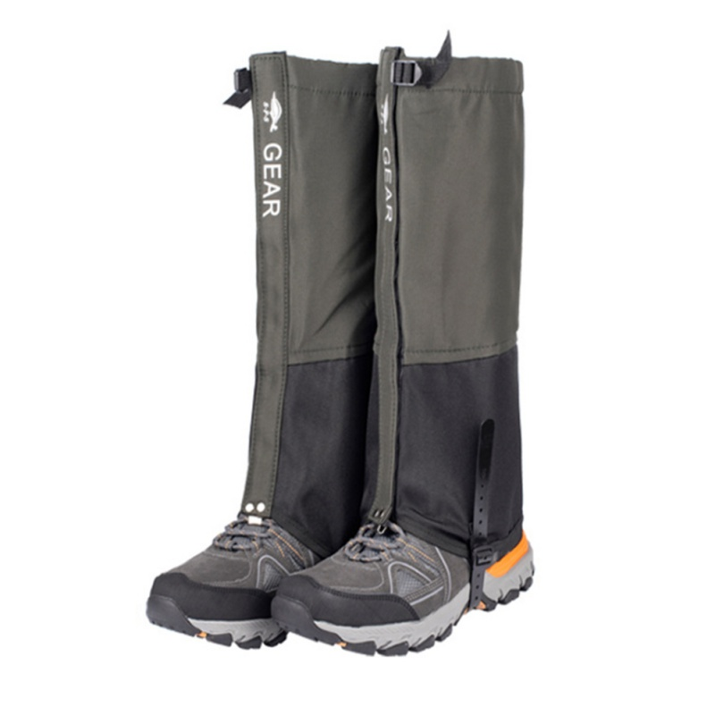 Mountain Hiking Hunting Boots Gaiters Snow Snake High Leg Shoes Cover Waterproof