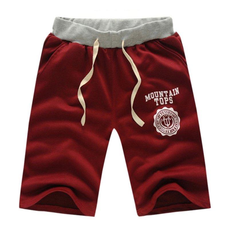 FR-Hommes-Men-coton-Short-Pants-Gym-Sports-Jogging-Trousers-Casual-Half-Pants