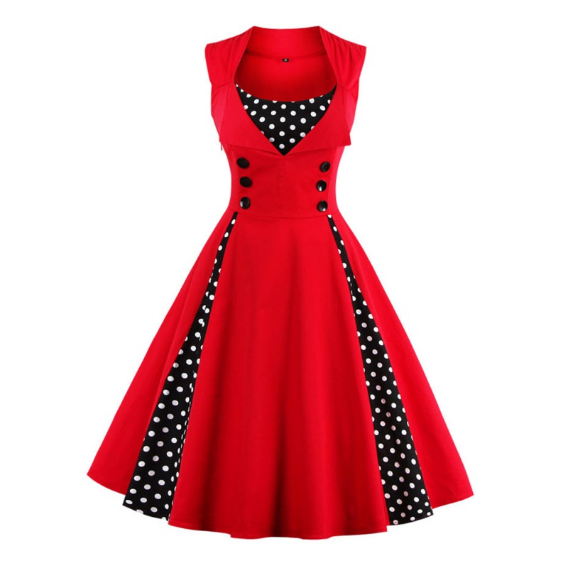 Plus Size Rockabilly Dresses Uk 16