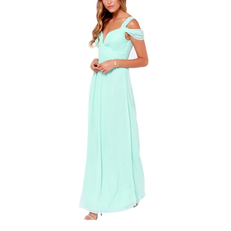 Sexy Womens Summer Boho Long Maxi Evening Party Prom Dress ...