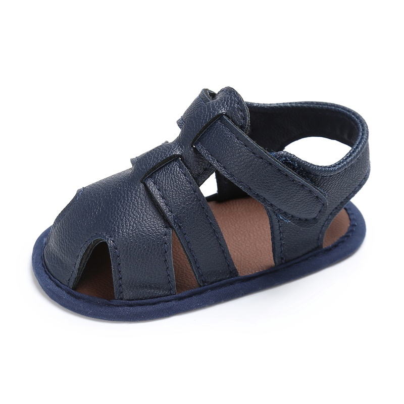 Kids-Soft-Soled-Leather-Casual-Shoes-Summer-Baby-Boy-Sandals-Prewalker-0-18M thumbnail 8