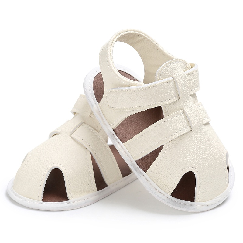 Kids-Soft-Soled-Leather-Casual-Shoes-Summer-Baby-Boy-Sandals-Prewalker-0-18M thumbnail 7