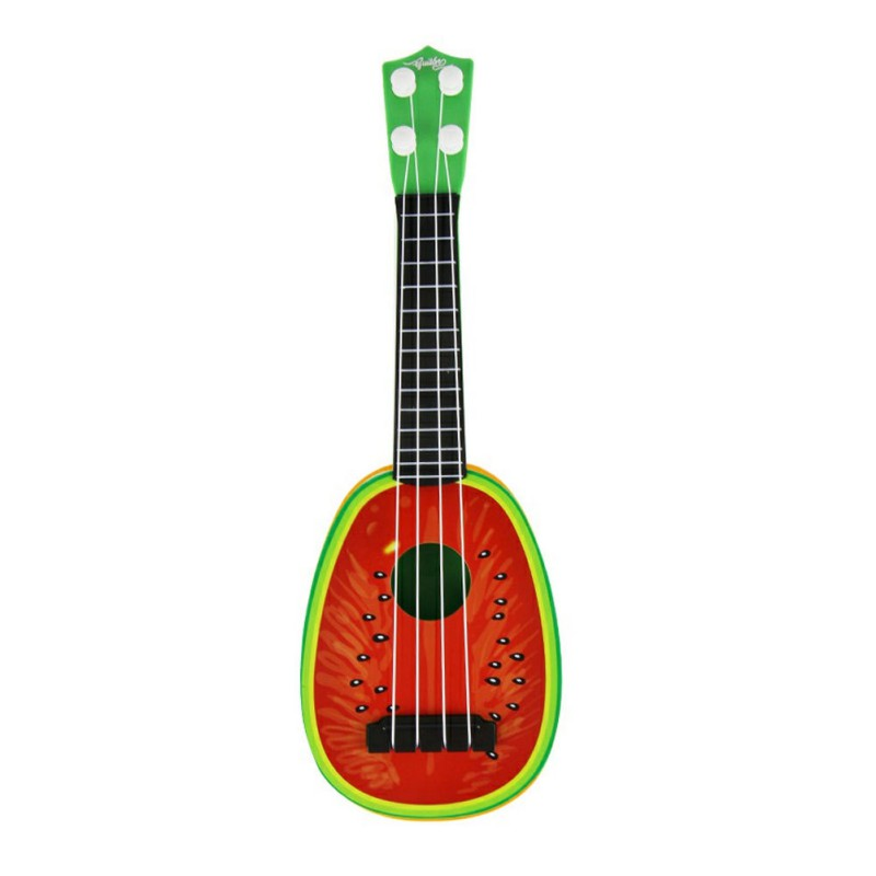 cute fruit children musical guitar ukulele instrument toy kids educational gift ebay. Black Bedroom Furniture Sets. Home Design Ideas