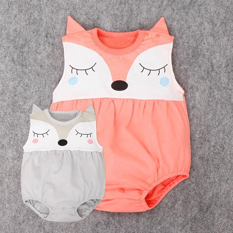 Cute Newborn Infant Baby Boy Girls Fox ic Strip