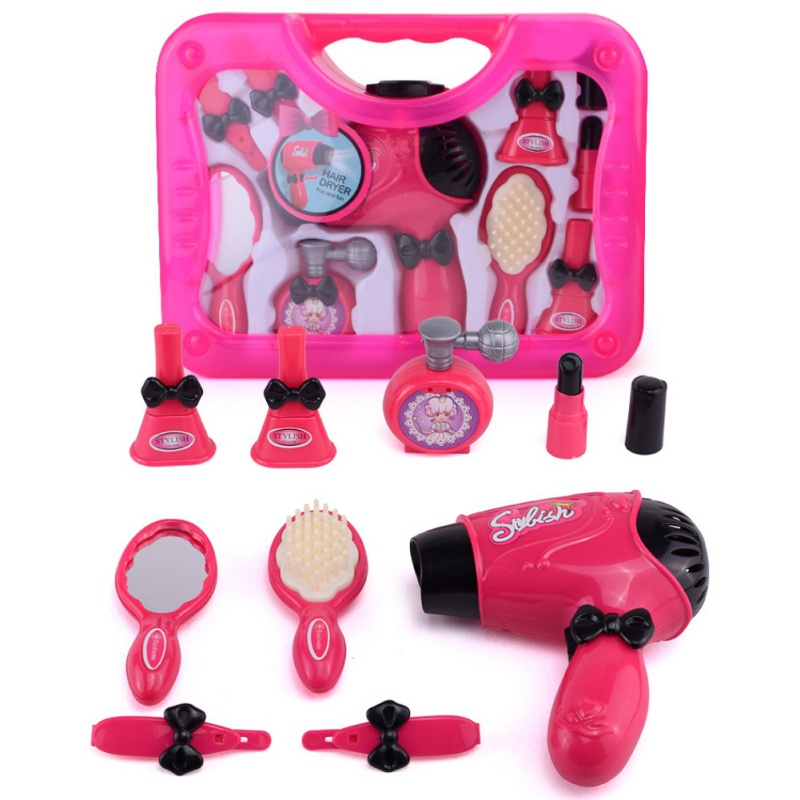 Kids Girls Beauty Set Gift Princess Hair Dryer Camera Perfume ...