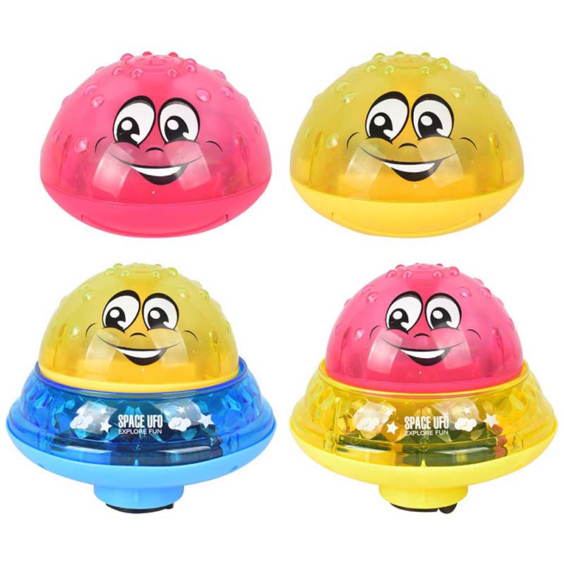 Children-Fun-Electric-Induction-Sprinkler-Water-Spray-Light-Baby-Bath-Toy-US thumbnail 3