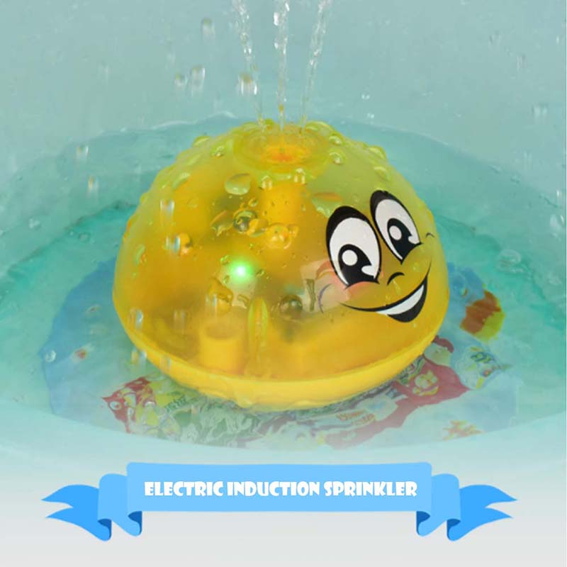 Children-Fun-Electric-Induction-Sprinkler-Water-Spray-Light-Baby-Bath-Toy-US thumbnail 5