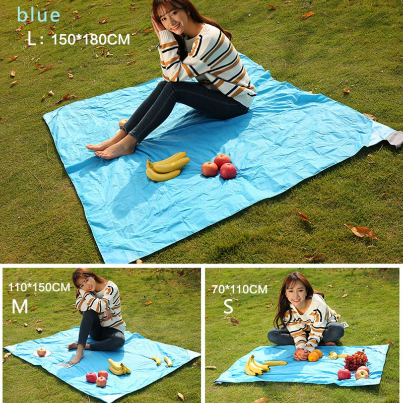 Beach Blanket No Sand: Waterproof Folding Portable Beach Blanket Picnic Hiking