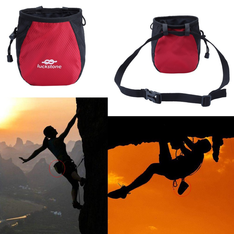 Outdoor-Rock-Climbing-Chalk-Bag-Waterproof-Polyester-Magnesium-Powder-Pouch