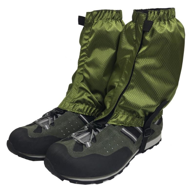US-Outdoor-Sport-Waterproof-Climbing-Hiking-Cycling-Ski-Shoe-Leg-Gaiter-Cover thumbnail 20
