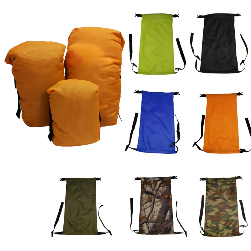 Portable Travel Camping Sleeping Bag Outdoor Compression Stu