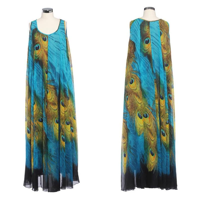 Lady-Chiffon-Sleeveless-Dress-Boho-Maxi-Long-Party-Casual-Dress-Beach-Sundress