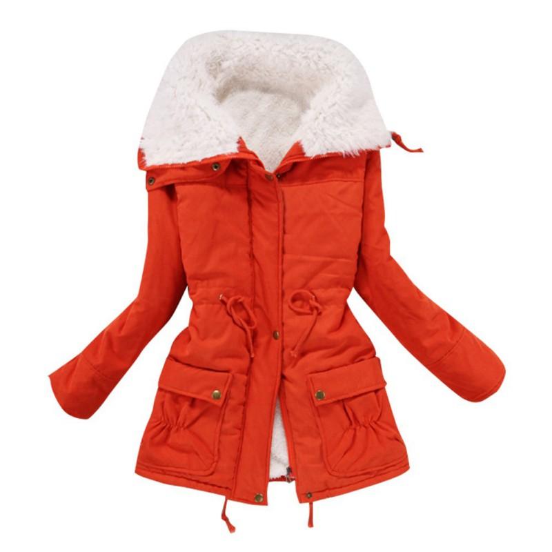 2c1a0c89e Women Outwear Thicken Coat Hood Parka Overcoat Warm Long Jacket | eBay
