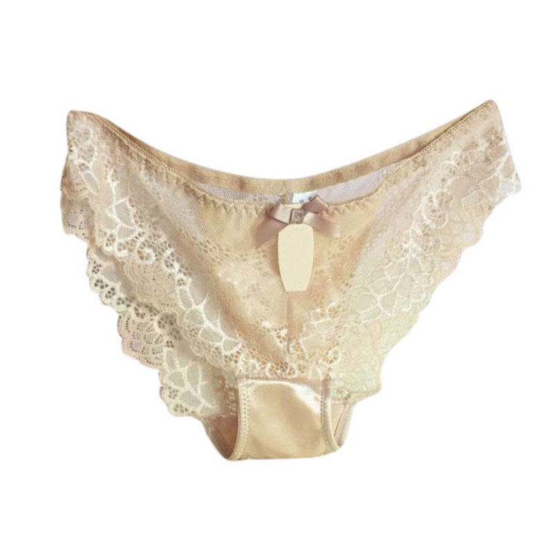 Women Lace Lingerie G-string Briefs Panties V-string ...
