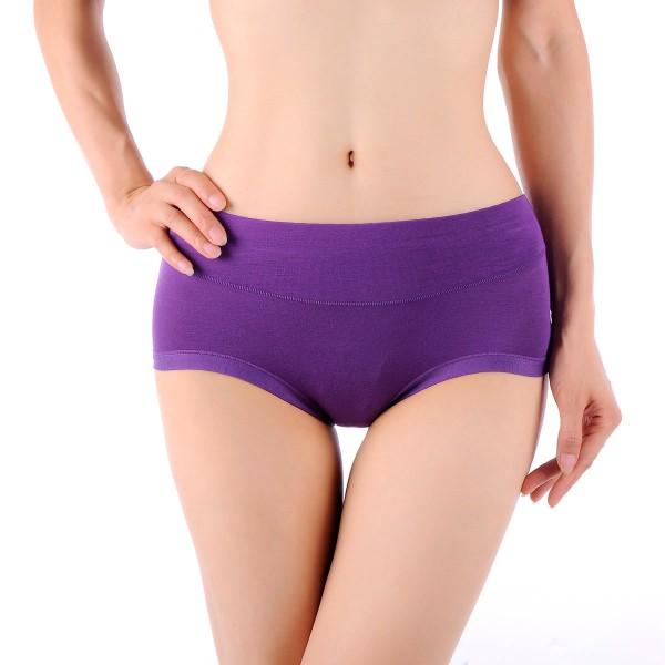 New-Women-Comfortable-Bamboo-Fiber-Antibacterial-Underpants-Briefs-Underwear-O88