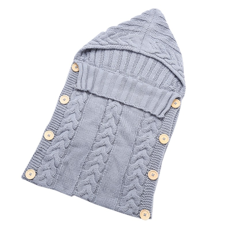 Knit Thermal Newborn Baby Sleeping Bag Blanket Sleep Sack ...