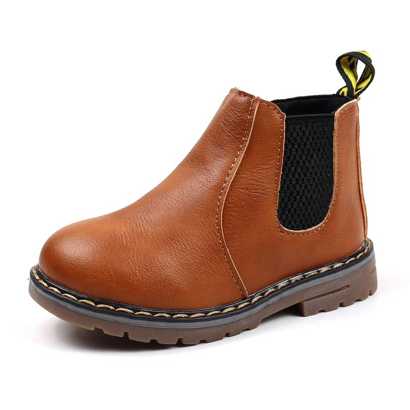 Baby-Girls-Boys-PU-Leather-Martin-039-Shoes-Toddler-Kids-Infant-Soft-Casual-Boots