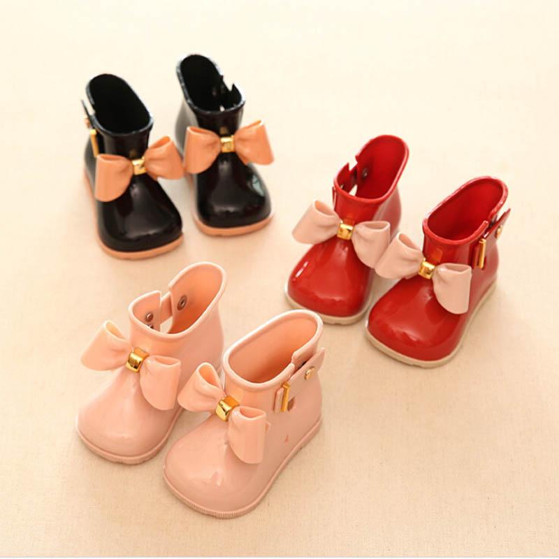 Waterproof Child Infant Baby Sandals Kids Boy Girls Rubber Rain Boots Rain Shoes