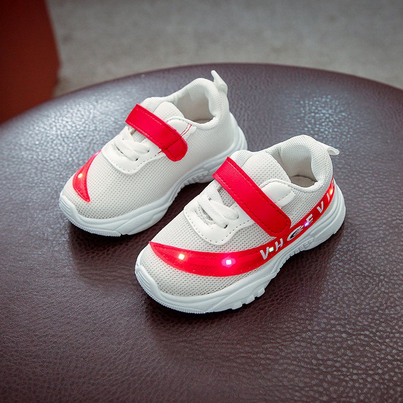 Baby-Toddler-Boys-Girls-Luminous-Sneakers-Kids-Light-Up-LED-Trainers-Shoes-1-4T