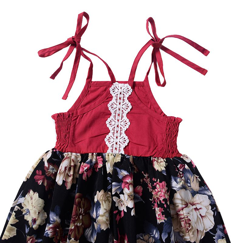 Toddler-Baby-Girls-Sleeveless-Dresses-Party-Princess-Floral-Outfit-Sundress55 thumbnail 10