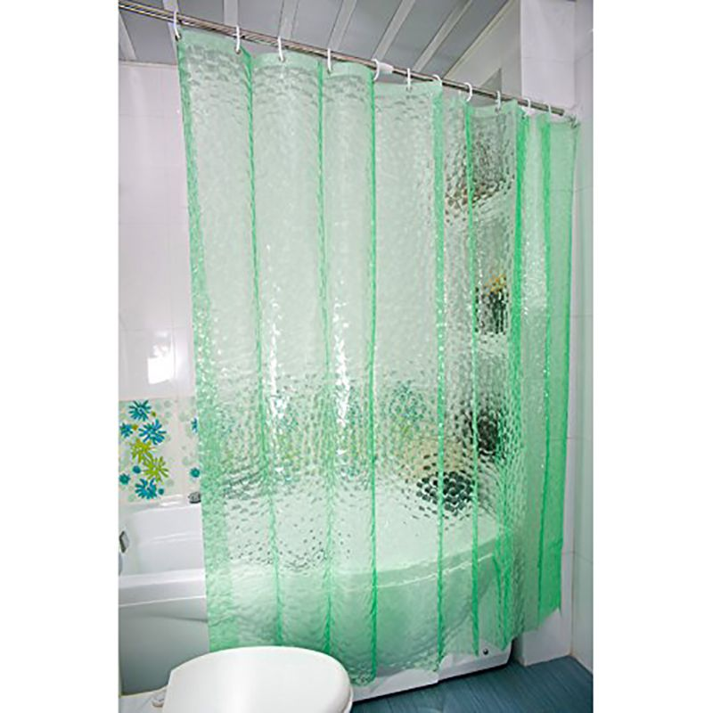 3D Water Cube Design Shower Curtain Bathroom Decor