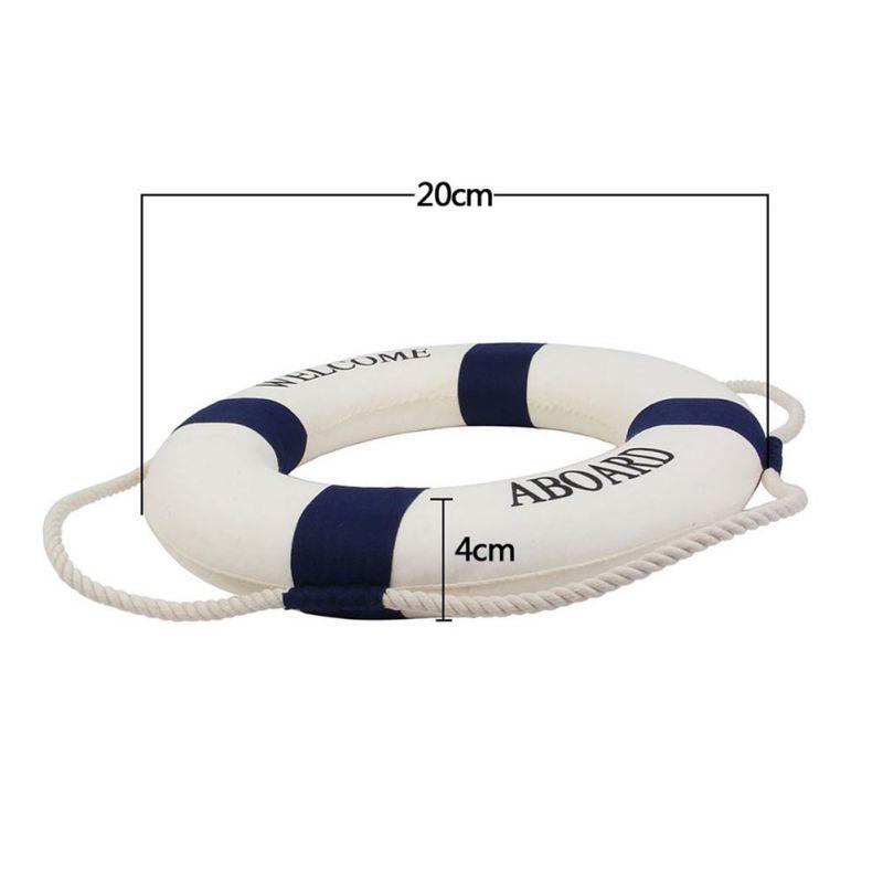 Swimline Lifeguard Life Preserver Swimming Pool Foam Safety Ring Buoy Decor Boat