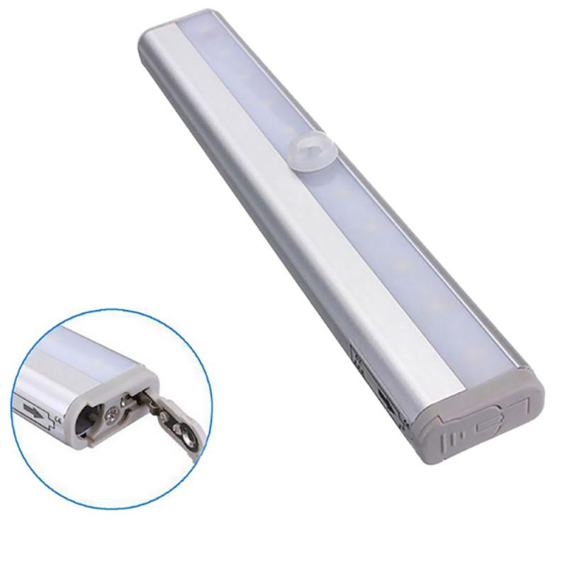 led bright wireless pir motion sensor light lamp drawer