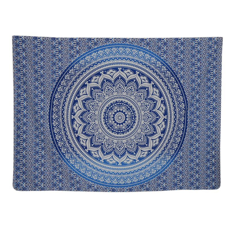 Indian Mandala Hippie Tapestry Beach Throw Towel Round