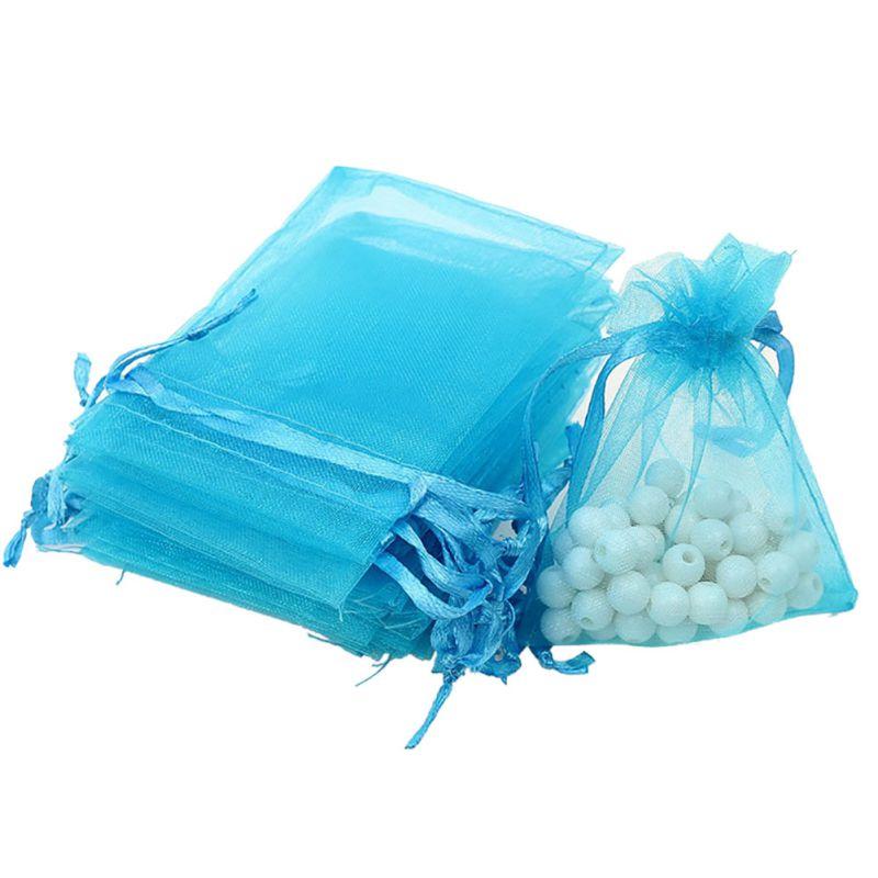 Wedding Gift Pouches: 100PCS Wedding/Party Favor Mini Gift Bags Pouches Organza