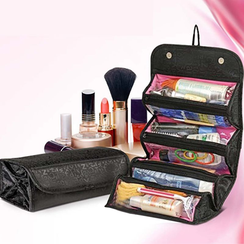 Travel Cosmetic Bag Makeup Case Pouch Wall Hanging
