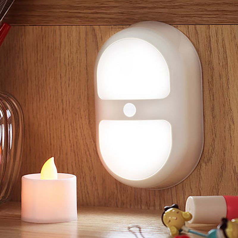 For Stairs Home Bath Bathroom Cabinet Night Wall Lights