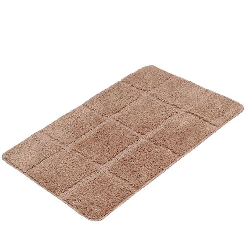 Non Slip Fluffy Bathroom Shower Lattice Mat Floor Rug Carpet Pad Multicolor R