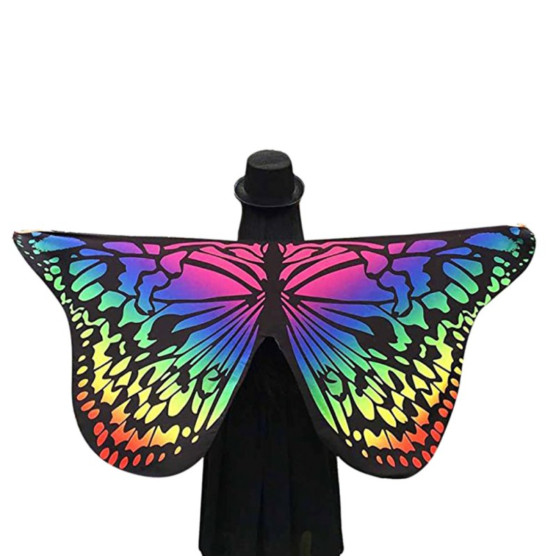 Fashion Butterfly Wing Cape Scarf For Women