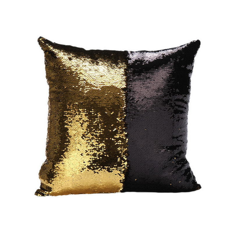 Double Sided Mermaid Reversible Sequin Glitter Pillow Case