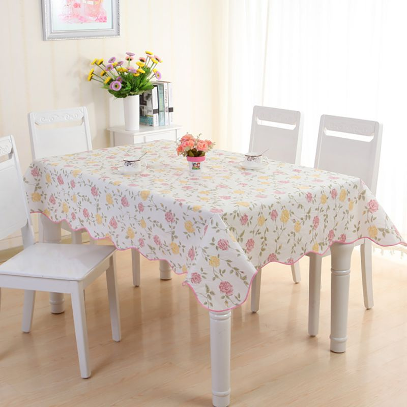 table cover protector wipe clean peva tablecloth dining