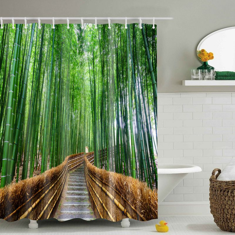 Material Shower Curtain Uk