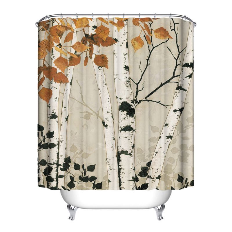 AnimalampNature Waterproof Bathroom Shower Curtain Polyester