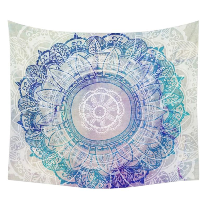 Indian Mandala Tapestry Wall Hanging Hippie Bohemian