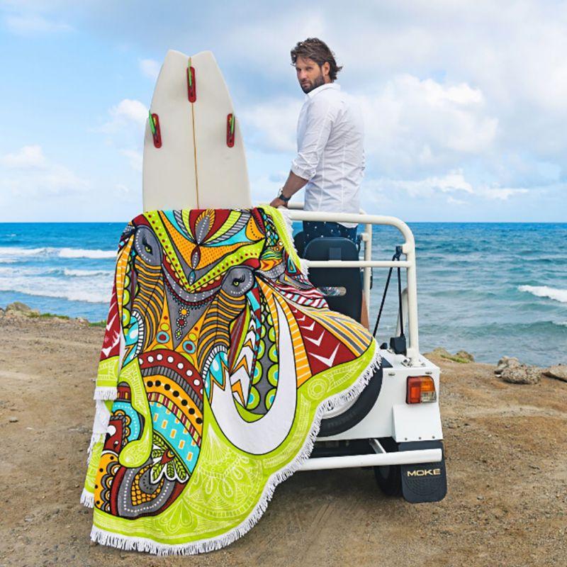 Round-Mandala-Indian-Hippie-Boho-Tapestry-Beach-Picnic-Throw-Towel-Mats-Blanket