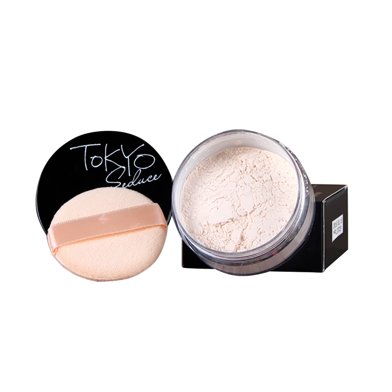 New Face Smooth Skin Finishing Powder Oil-control ...