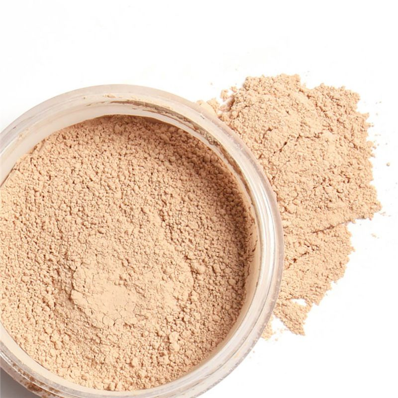 loose finish powder waterproof mineral smooth skin face