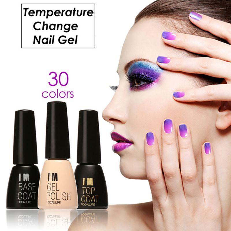 Temperature Chameleon Thermal Color Change UV Gel Polish Soak Off ...