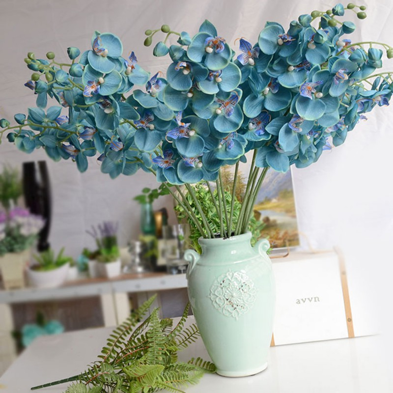 1pc diy gorgeous artifical butterfly orchid wedding party