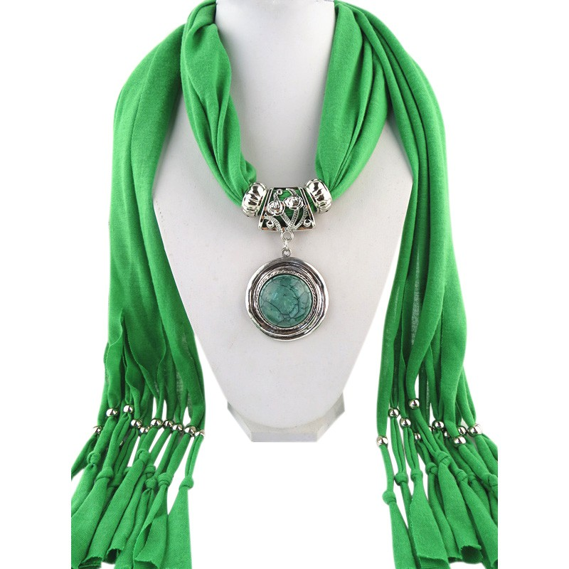tassel jewelry pendant necklace scarves