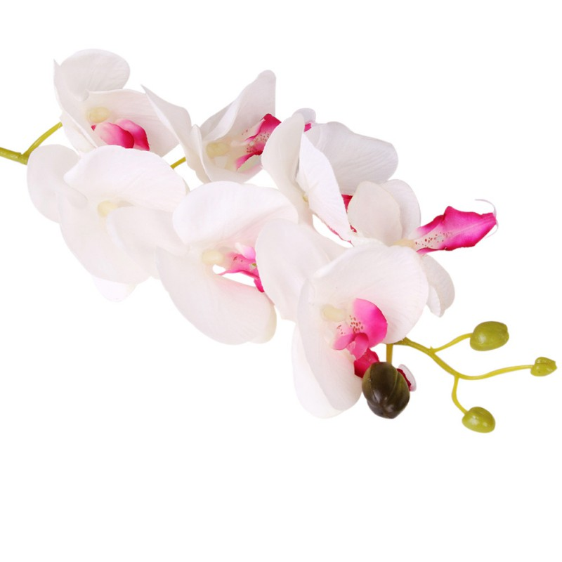 multi color artificial phalaenopsis silk flower party