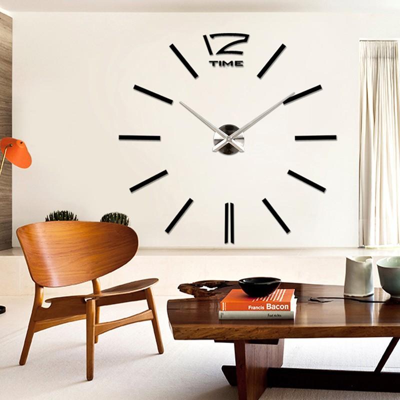 Art-3D-Mirror-Surface-Sticker-Modern-DIY-Large-Wall-Clock-Office-Home-Room-Decor